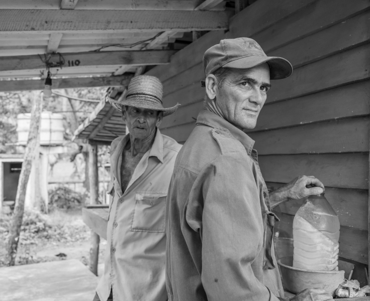 Cuban farmers Vinales Valley Cuba