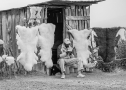vendor-on-side-of-road-with-sheepskins-Rift-Valley