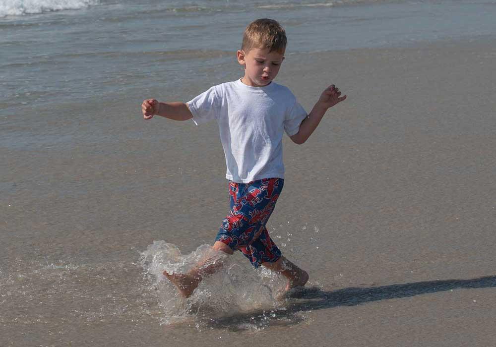 Long Beach Island Boy On Beach