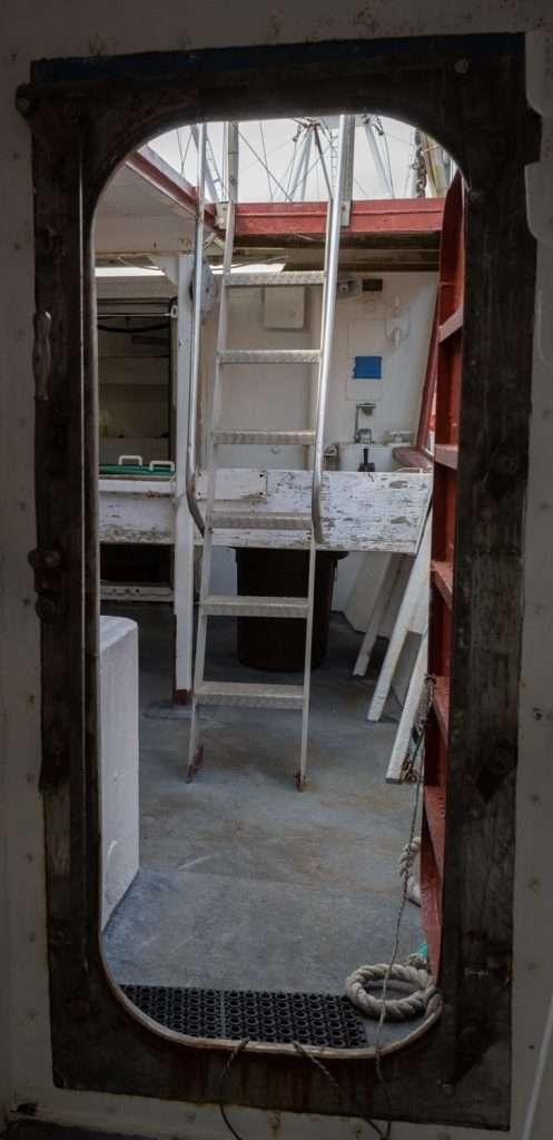 Door to deck